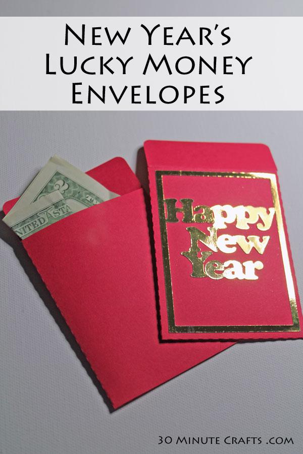 New Year's Lucky Money Envelopes