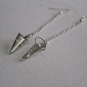 arrowhead earrings - easy to make jewelry