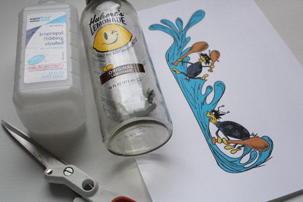supplies for tweedle beetle bottle