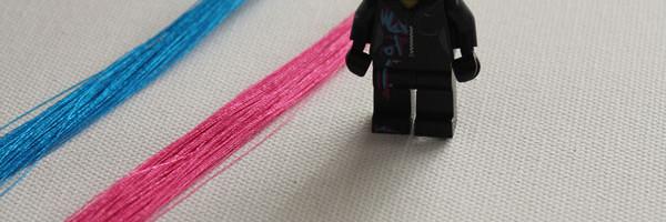 wyldstyle hair streaks