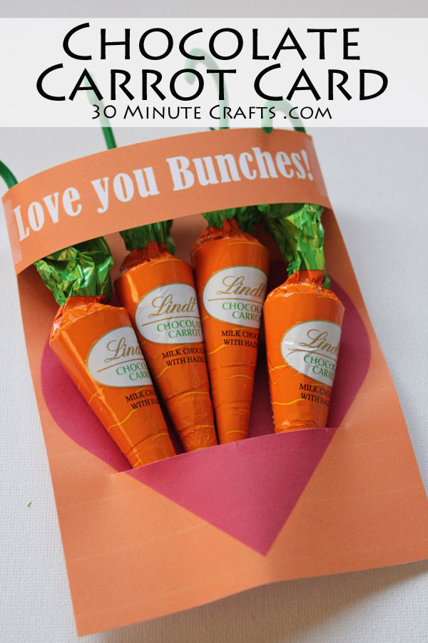 Chocolate Carrot Card