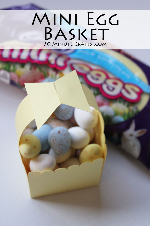 Mini Egg Basket
