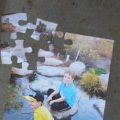 magnetic photo puzzle