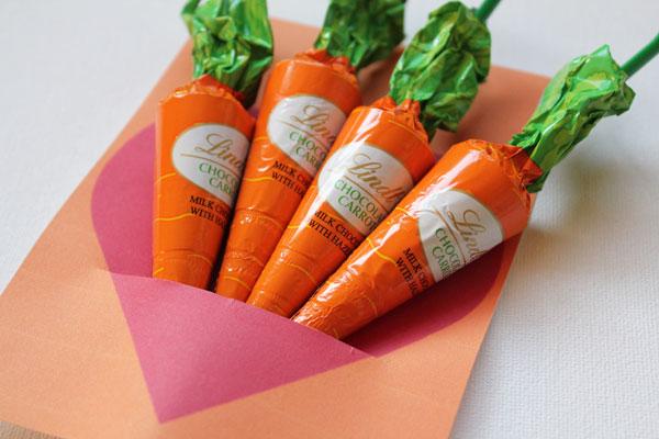 tuck in carrots