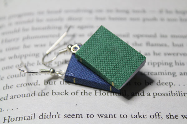 Book Earrings The Perfect Lover
