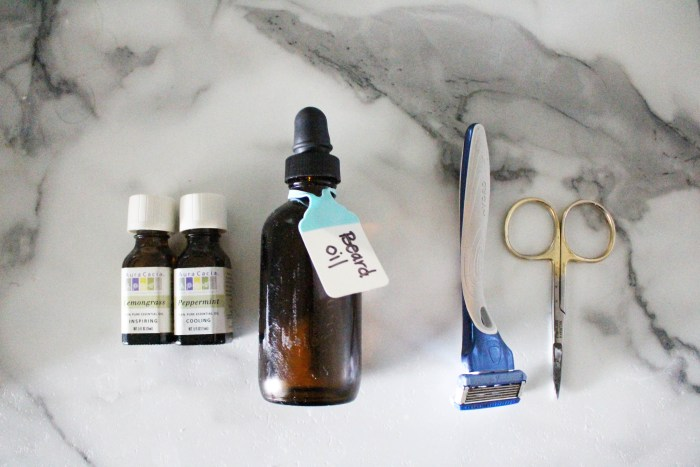 DIY Beard Oil