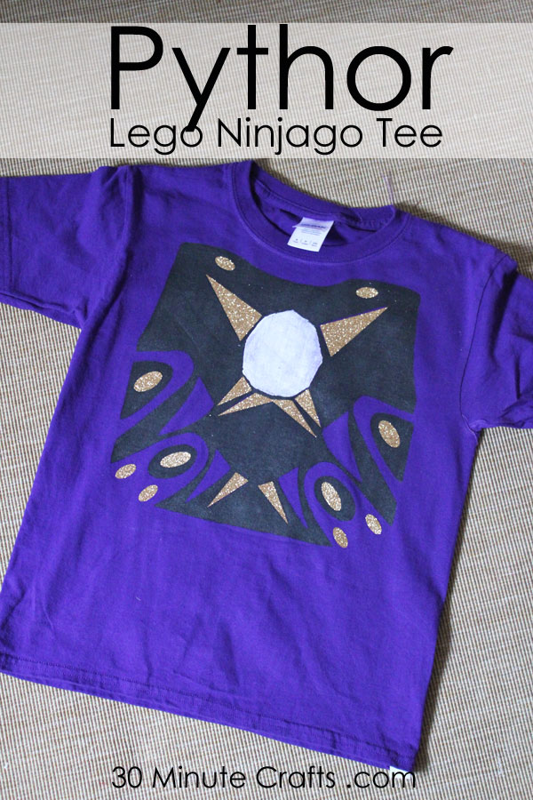 DIY Pythor Lego Ninjago shirt