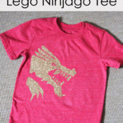 Easy DIY Lego Ninjago Kai Shirt