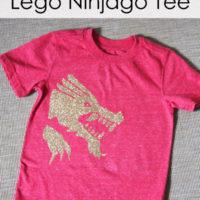 Easy DIY Lego Ninjago Kai Shirt