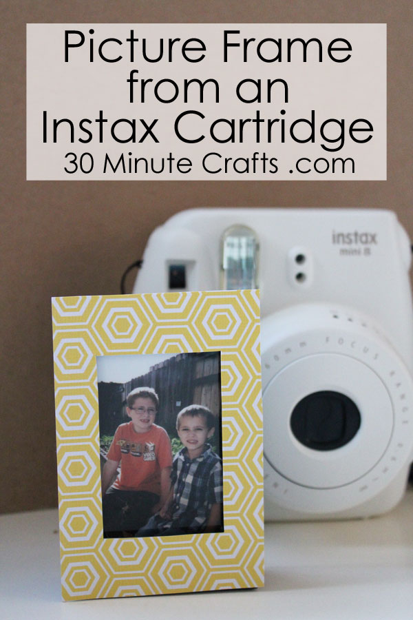 Picture frame from an Instax Cartridge