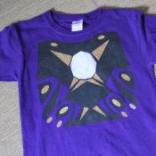 finished lego ninjago pythor shirt