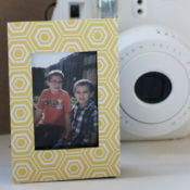 instax cartridge photo frame