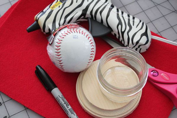 supplies for baseball stand