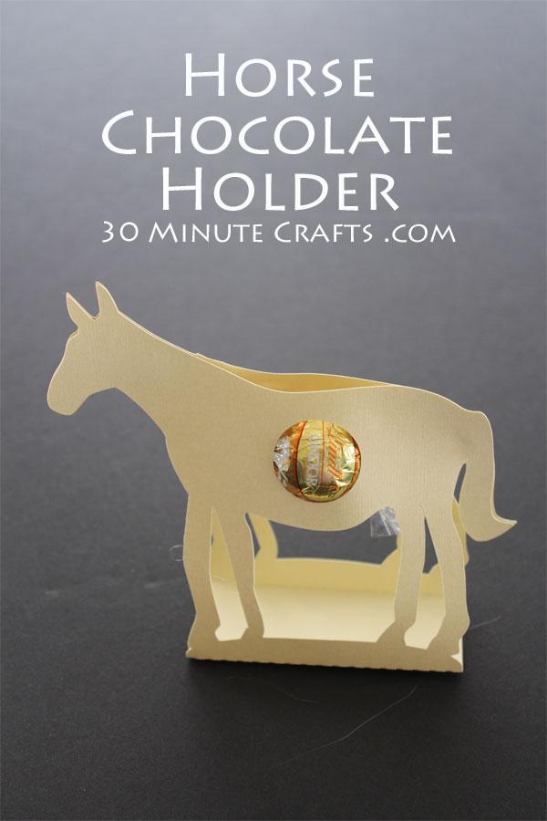 Horse Chocolate Holder