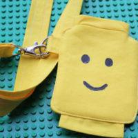 finished lego lanyard pocket