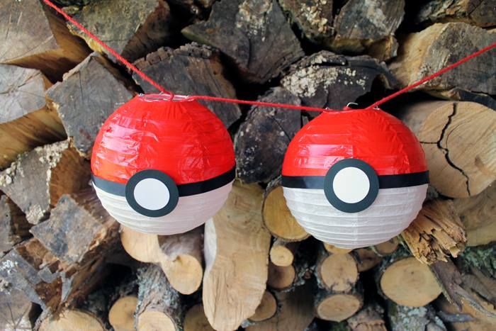 Pokemon Party Lanterns from The Country Chic Cottage