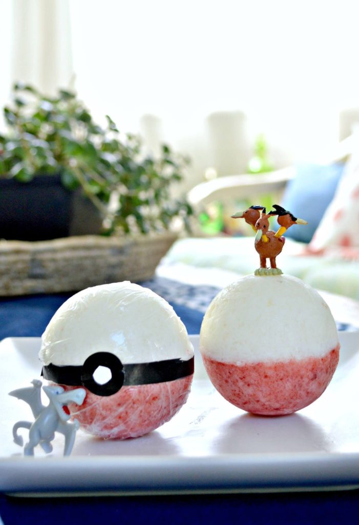 Pokemon Bath Bomb from Mad in Crafts