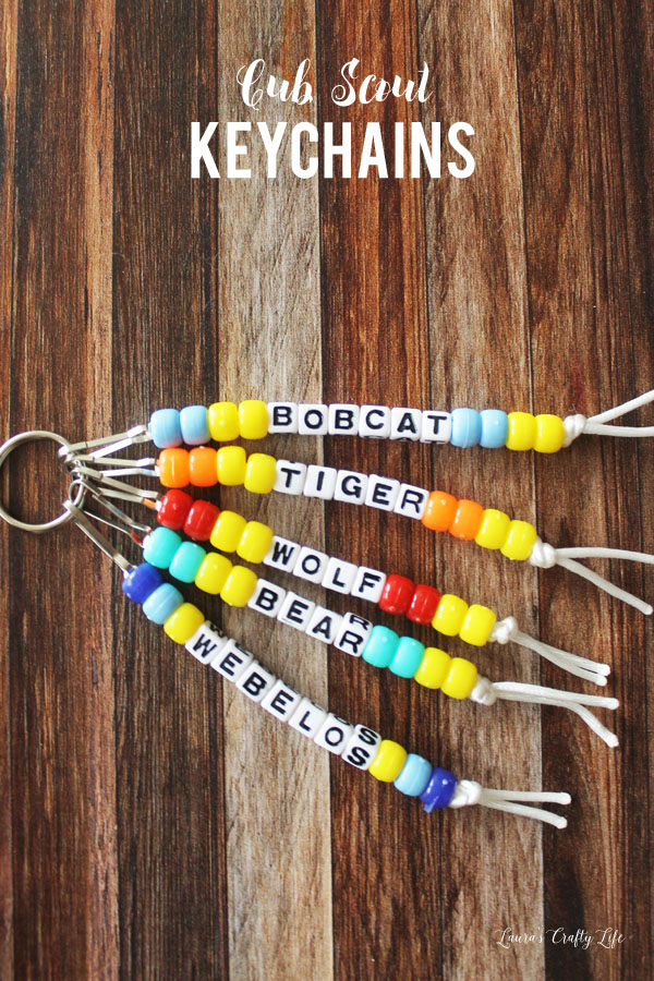 Cut-Scout-keychains-one-keychain-for-each-rank-advancement