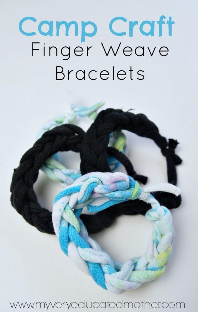 Finger Weave Bracelets