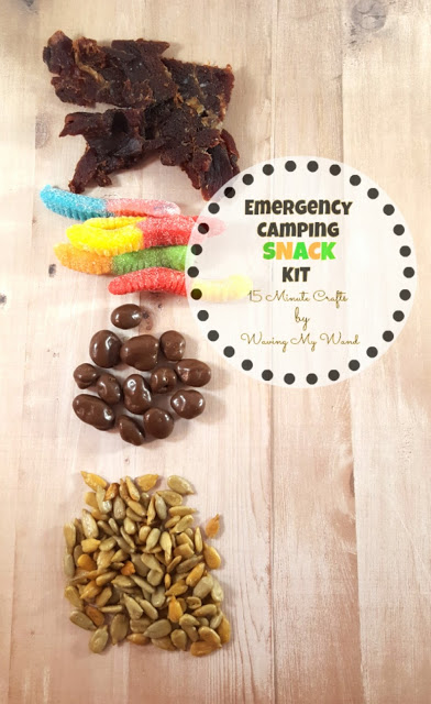 emergency snack camping kit wavingmywand terri burson