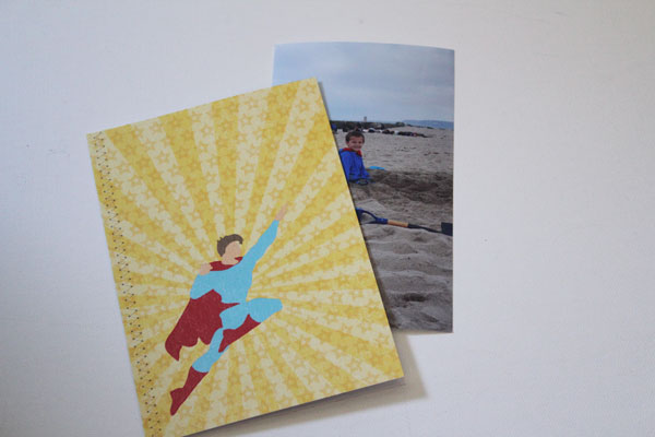 finished photo book