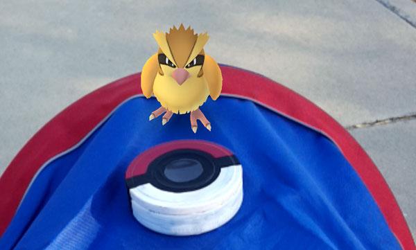 finished pokemon go craft - pokeball tin