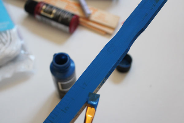 paint on sticks