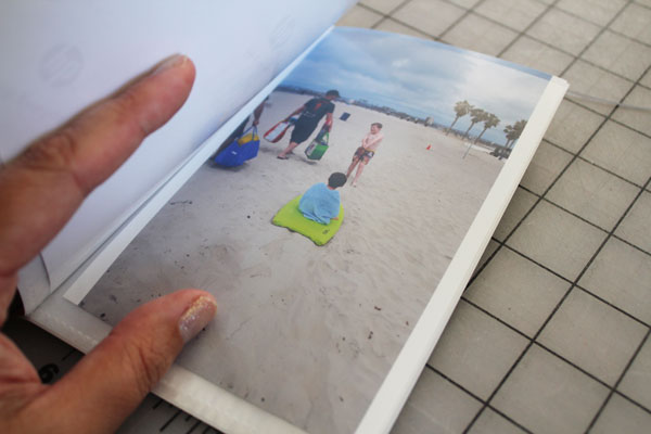 photos in photo book