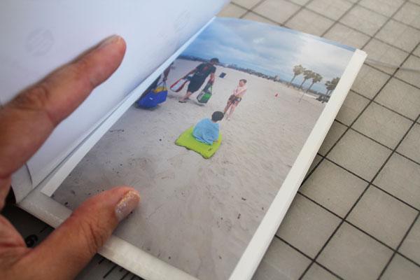 photos in photo book