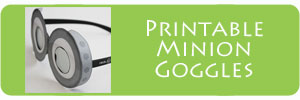 Printable 3D Minion Goggles