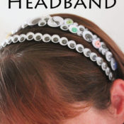 Googly Eye Headband - easy to make Halloween accessory!