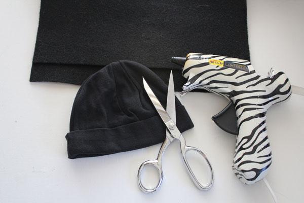 supplies for bat hat