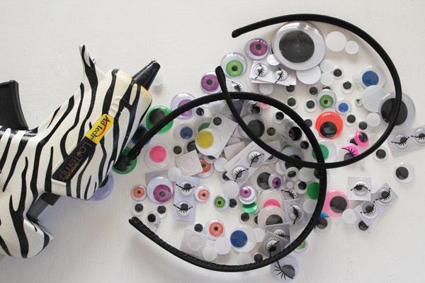 supplies for googly eye headband