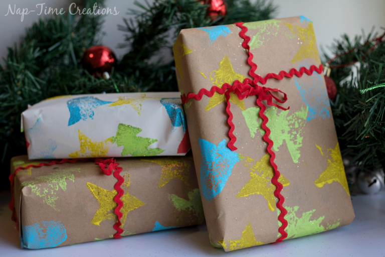stamped-wrapping