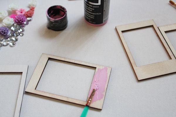 paint frames
