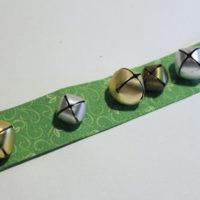 finished jingle bell bracelet