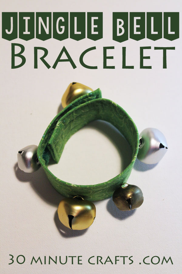 Make your own Jingle Bell Bracelet