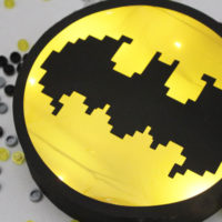 Make a Lego Batman Movie Bat Signal