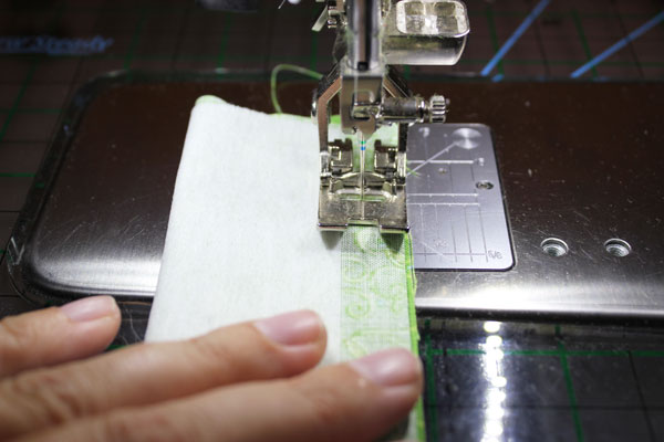 stitch down length