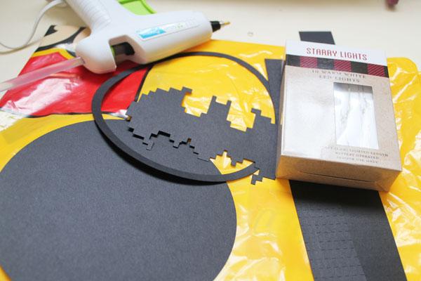 Supplies for Lego Batman Movie Bat Signal