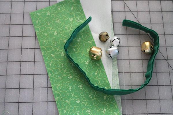 supplies for jingle bell bracelet