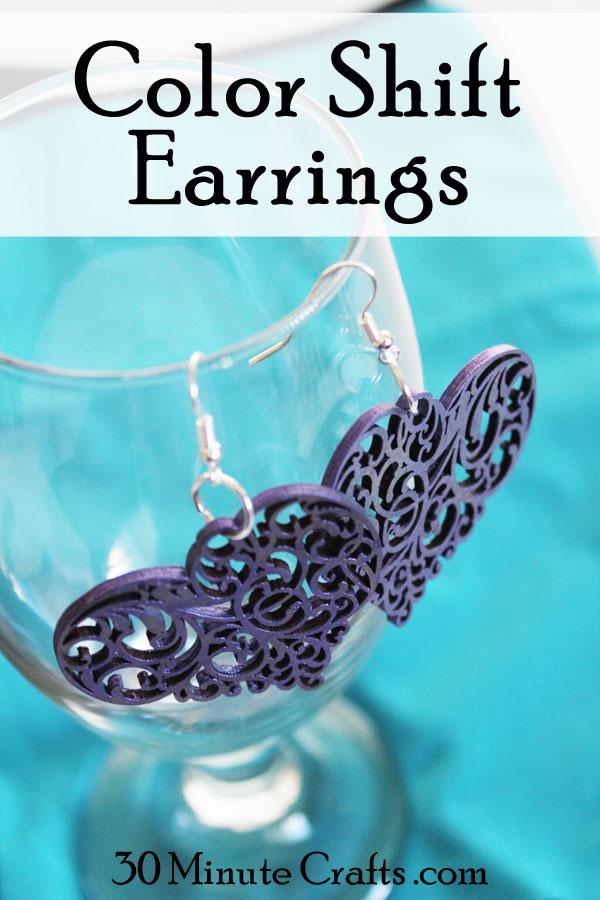 DIY Color Shift Earrings