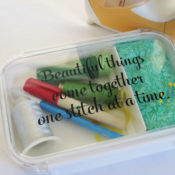 make your own sewing kit