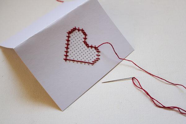 stitch all the way around