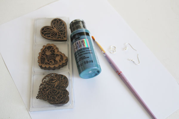 supplies for color shift earrings