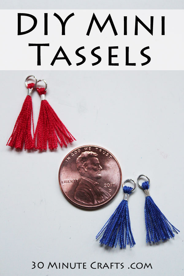 DIY Mini Tassels