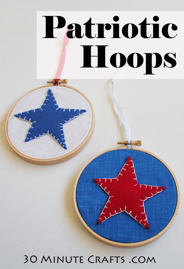 Patriotic Hoops