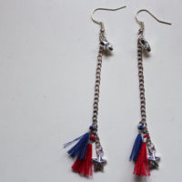 finished tassel earrings