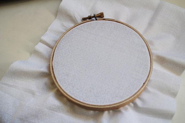 hoop fabric
