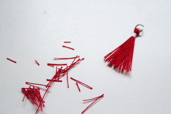 trim mini tassel